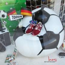 Ines Schuhmoden Fußball WM 2018 Schaufenster