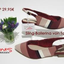 Ines Schuhoden Sling Ballerina Tamaris