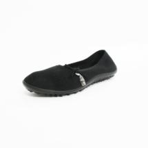 Ines Schuhmoden Leguano Barfußschuhe Ballerina schwarz