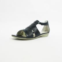 Ines Schuhmoden Sandale Josef Seibel 2 blau
