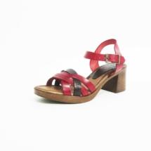 Ines Schuhmoden Sandalette rot jpg