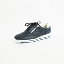 Ines Schuhmoden Sneaker Waldläufer blau
