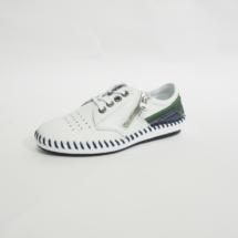 Ines Schuhmoden Halbschuhge weiß grün blau